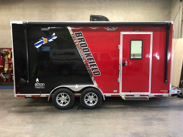 Trailer for Brookfield Fire and Emergency Services 744x558